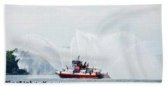Water Boat Hand Towel