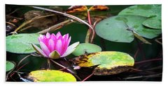 Water Lily #2 Hand Towel
