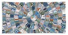 Water Mosaic Bath Towel