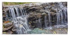 Waterfall @ Sharon Woods Bath Towel