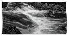Waterfalls At Ricketts Glenn Bath Towel