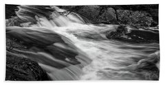 Waterfalls At Ricketts Glenn Hand Towel