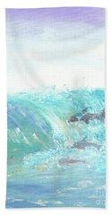 Wave Front Bath Towel