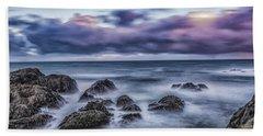 Waves At The Shore Hand Towel