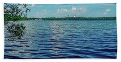 Waves On Lake Harriet Bath Towel