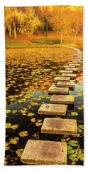 Way In The Lake Hand Towel