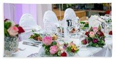 Wedding Table Bath Towel