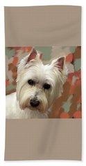 West Highland Terrier Hand Towel