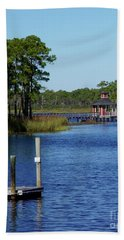 Western Lake Florida Bath Towel