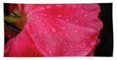 Wet Rose Petal Bath Towel