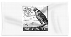 What Falcons Think Bath Towel