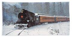 White Mountain Scenic Railroad Engine 36 September 1971 Hand Towel