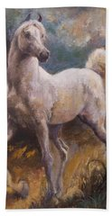 White Arabian Bath Towel