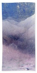 White Mountains Abstract Bath Towel