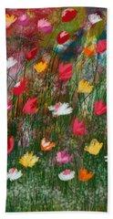 Wildest Flowers 3- Art By Linda Woods Hand Towel