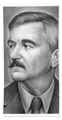 William Faulkner Bath Towel