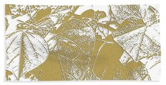 Willow Gold Redbud Hand Towel