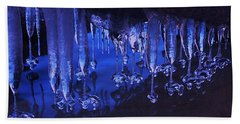 Winter Blues  Hand Towel