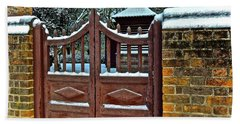 Winter Gate Bath Towel