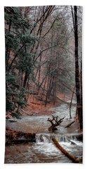 Winter Woods Bath Towel