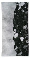 Winters Edge - Aerial Photography Bath Towel