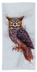 Wise Owl Hand Towel