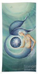 With Gratitude The Universe Is Hers Bath Towel