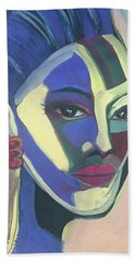 Woman Of Color Hand Towel