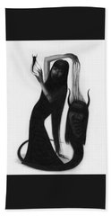 Woman With The Demon's Fingers - Artwork Hand Towel