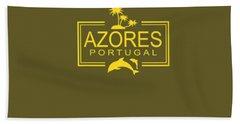 Azores Digital Art Bath Towels