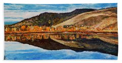 Wonderland Lake Bath Towel