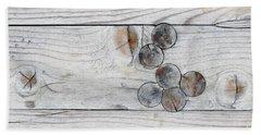 Wood With Knots Bath Towel