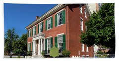 Woodrow Wilson Boyhood Home - Augusta Ga 2 Hand Towel