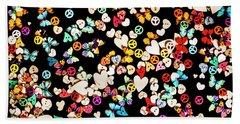 Woodstock Decorated Hand Towel