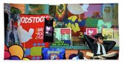 Woodstock Peace And Love 3 Bath Towel