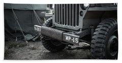 World War II Us Army Mp Jeep Hand Towel
