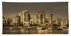 Yaletown Golden Hour Hand Towel