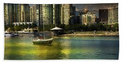Yaletown Sunset Hand Towel