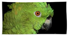 Yellow-naped Amazon Bath Towel