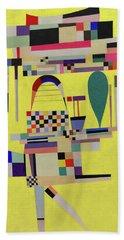 Yellow Painting - La Toile Jaune, 1938 Hand Towel