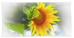Yellow Petals Of Sunshine Hand Towel