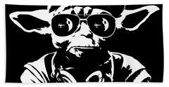 Yoda Parody - Only Once You Live Bath Towel