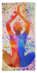 Yoga Stretch Hand Towel