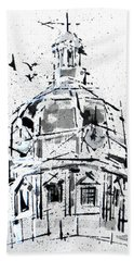 York County Courthouse Dome Hand Towel