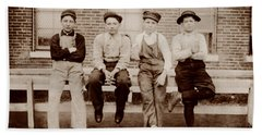 Young Factory Workers - Missouri 1910 Hand Towel