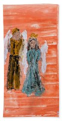 Young Love Angels Hand Towel