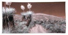 Yucca Dagger Flat Big Bend West Texas Spanish Dagger Infrared Hand Towel