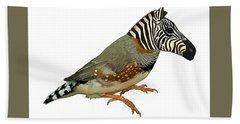Z Is For Zebra Finch Thats Not A Zebra Finch Hand Towel