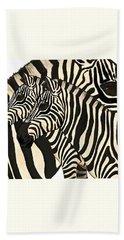 Z Is For Zebras Hand Towel