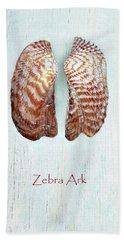 Zebra Ark Bath Towel